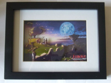 Lunar Silver Star Harmony 3D Diorama Shadow Box